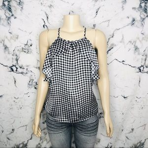 💙3/$25💙 Ardene Gingham Print Tank Top Size Large